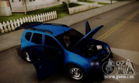 Lada Duster für GTA San Andreas obere Ansicht