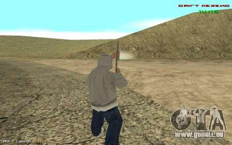 Cheat Blick für GTA San Andreas dritten Screenshot