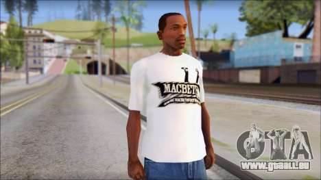 Macbeth T-Shirt für GTA San Andreas