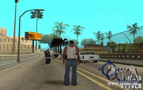 Warning Attack pour GTA San Andreas deuxième écran