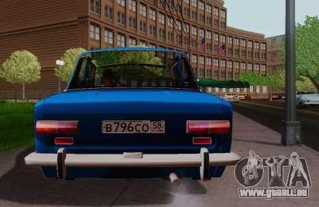VAZ 2101 Coupé pour GTA San Andreas sur la vue arrière gauche