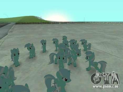 Lyra pour GTA San Andreas troisième écran