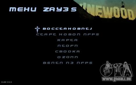 Hud by Videlka pour GTA San Andreas troisième écran