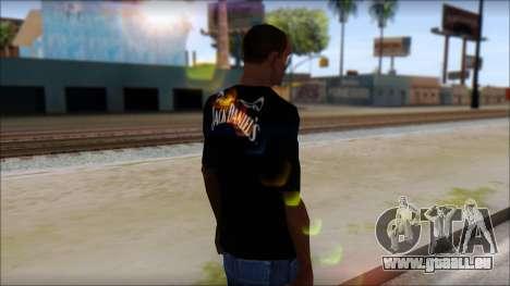 Jack Daniels T-Shirt pour GTA San Andreas deuxième écran