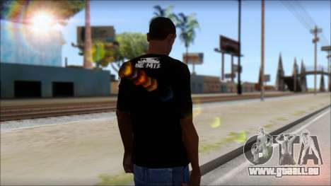 I am Awesome T-Shirt pour GTA San Andreas deuxième écran