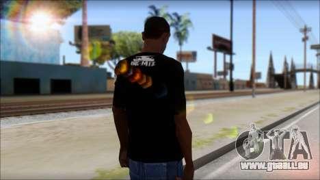 I am Awesome T-Shirt für GTA San Andreas zweiten Screenshot
