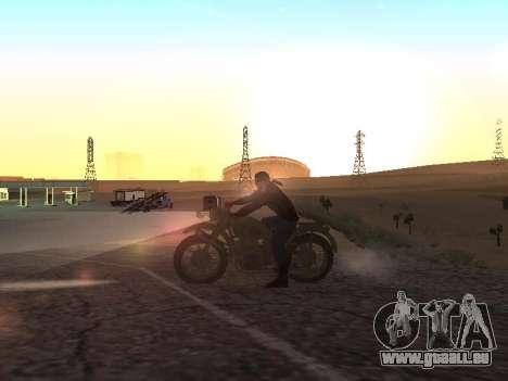 Oural M72 pour GTA San Andreas laissé vue