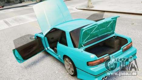 Nissan Silvia S13 v1.0 pour GTA 4 Vue arrière