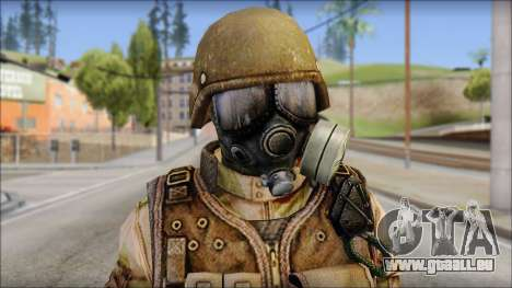 Desert GIGN from Soldier Front 2 pour GTA San Andreas troisième écran