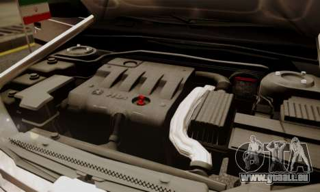 Peugeot Pars Limouzine für GTA San Andreas Unteransicht