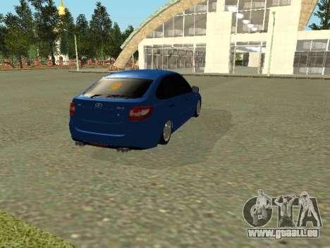 Lada Granta Liftback für GTA San Andreas rechten Ansicht