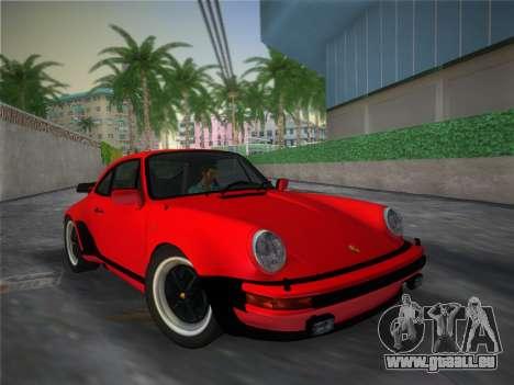 Porsche 911 Turbo 3.3 Coupe US-spec (930) 1978 pour GTA Vice City vue latérale