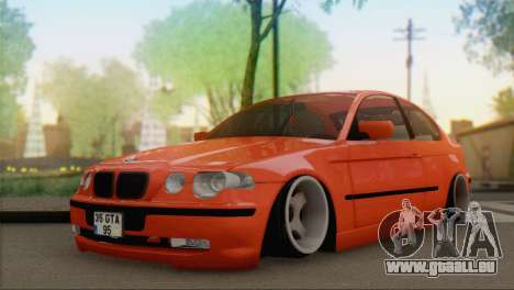 BMW 316i Compact für GTA San Andreas