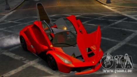 Ferrari LaFerrari WheelsandMore Edition pour GTA 4 est une vue de l'intérieur