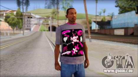Emo T-Shirt pour GTA San Andreas