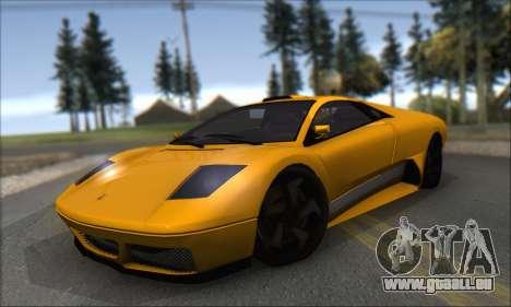 Pegassi Infernus pour GTA San Andreas laissé vue