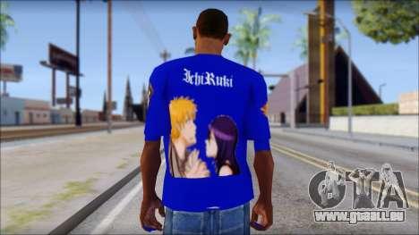 IchiRuki T-Shirt für GTA San Andreas zweiten Screenshot