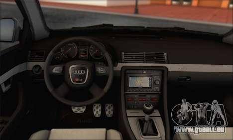 Audi S4 4.0 Quattro 2006 pour GTA San Andreas vue de côté