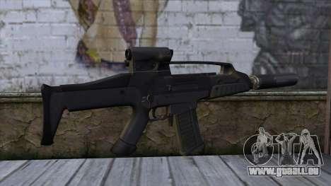 XM8 Compact Black für GTA San Andreas zweiten Screenshot