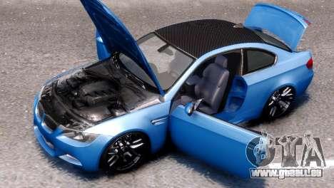 BMW M3 E92 für GTA 4 rechte Ansicht