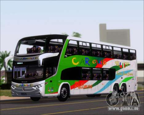 Marcopolo Paradiso G7 1800 DD 6x2 Scania K420 pour GTA San Andreas