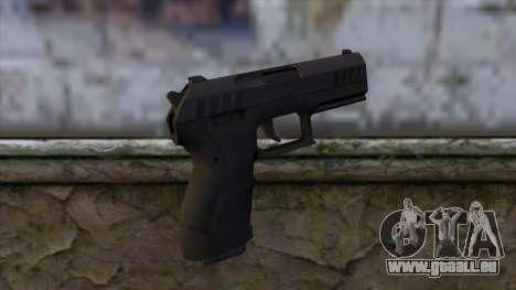 Combat Pistol from GTA 5 v2 pour GTA San Andreas deuxième écran