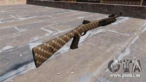 Ружье Benelli M3 Super 90 fibre de carbone pour GTA 4 secondes d'écran