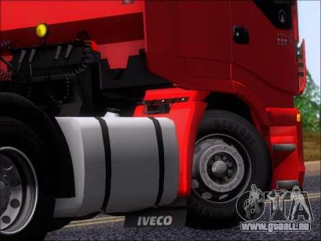 Iveco Stralis HiWay 560 E6 6x4 pour GTA San Andreas vue de côté