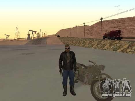 Oural M72 pour GTA San Andreas vue de droite