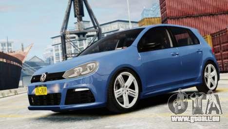 Volkswagen Golf R 2010 für GTA 4