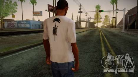 Afri Cola White Shirt für GTA San Andreas zweiten Screenshot