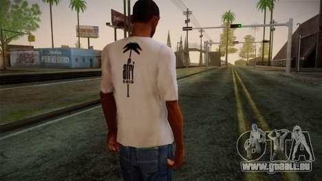 Afri Cola White Shirt pour GTA San Andreas deuxième écran