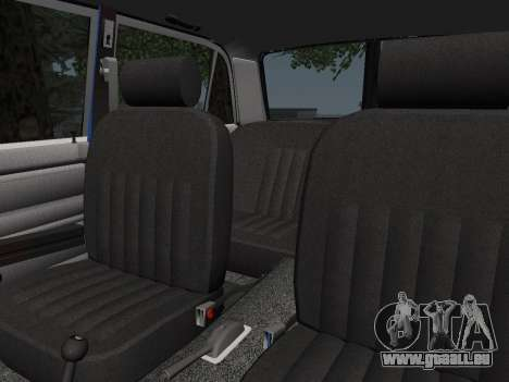 VAZ 21061 pour GTA San Andreas vue de dessus