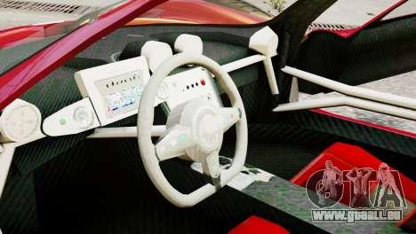 Pagani Zonda Autosport pour GTA 4 est un droit