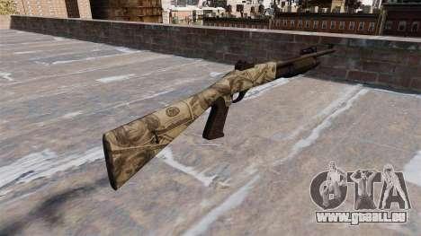 Ружье Benelli M3 Super 90 benjamins für GTA 4 Sekunden Bildschirm