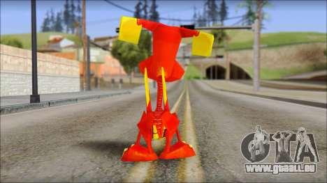 Tweek the Dragon from Fur Fighters Playable pour GTA San Andreas troisième écran