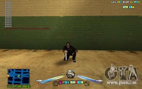 C-HUD Expert für GTA San Andreas zweiten Screenshot