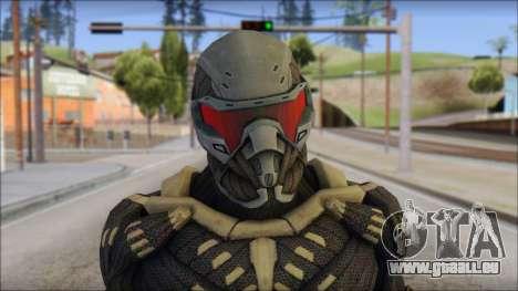 NanoSuit Skin pour GTA San Andreas troisième écran