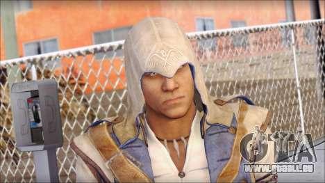 Connor Kenway Assassin Creed III v1 für GTA San Andreas dritten Screenshot