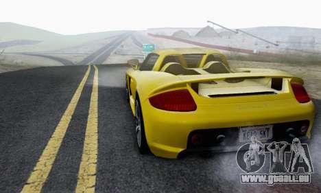 Porsche Carrera GT 2005 für GTA San Andreas Seitenansicht