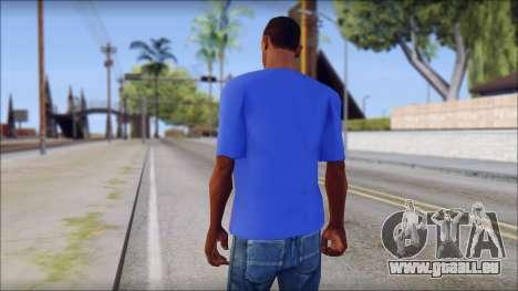 Black Sabbath T-Shirt v3 für GTA San Andreas zweiten Screenshot