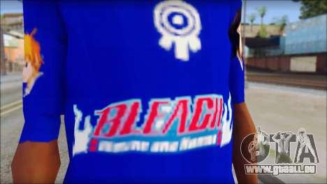 IchiRuki T-Shirt für GTA San Andreas dritten Screenshot