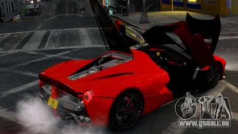 Ferrari LaFerrari WheelsandMore Edition pour GTA 4 est un côté