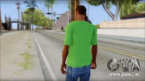 Pozilei T-Shirt pour GTA San Andreas deuxième écran
