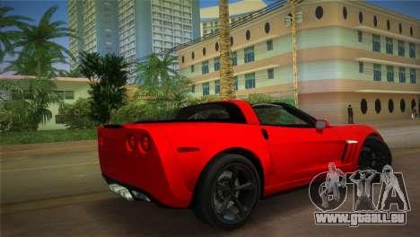 Chevrolet Corvette 2010 für GTA Vice City linke Ansicht