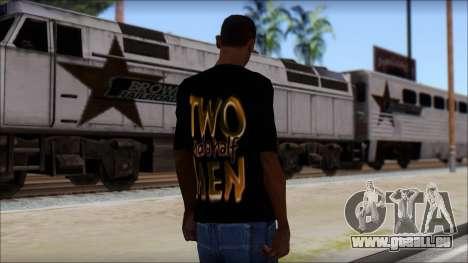 Two and a half Men Fan T-Shirt für GTA San Andreas zweiten Screenshot