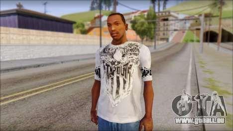 Tapout T-Shirt für GTA San Andreas