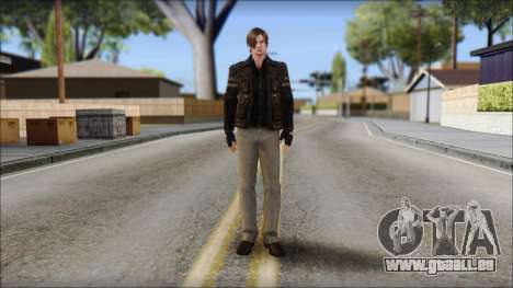 Leon Kennedy from Resident Evil 6 v3 pour GTA San Andreas