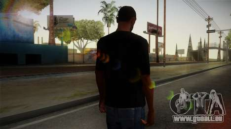Zombie Polo Shirt für GTA San Andreas zweiten Screenshot