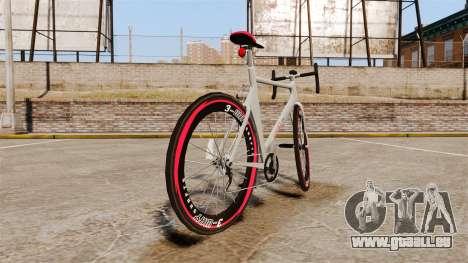 GTA V Endurex Race Bike pour GTA 4 Vue arrière de la gauche
